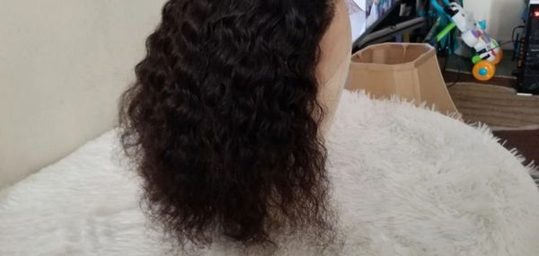 "12"" Deep Wave (13x4) Lace Frontal wig"