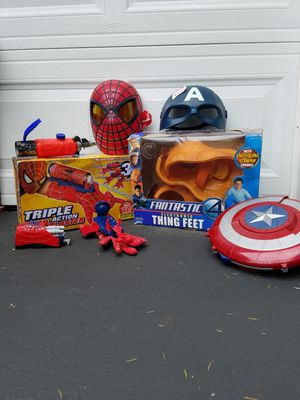 Marvel Hero's Cosplay Bundle!!! for Sale in Cranston, RI