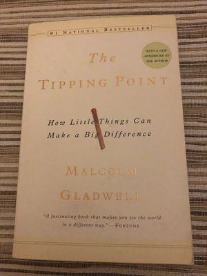 "One of ""must read"" books - Malcolm Gladwell ""The Tipping Point"" for Sale in San Ramon, CA"