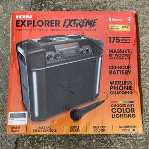 ION Audio Explorer Extreme Speaker In/Outdoor Bluetooth Rechargeable™ for Sale in Atlanta, GA