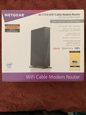 Router/Modem combo for Sale in Modesto, CA