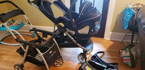 Chico keyfit30 caddy,car seat,2 kid stroller, base for Sale in Naugatuck, CT