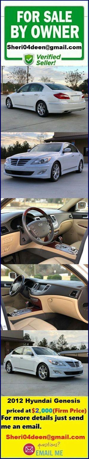 Hyundai Genesis 2o12 excellent condition for Sale in Nashville, TN