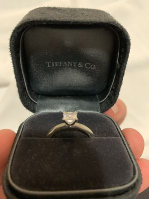 RECENTLY REDUCED - Engagement ring + free band -TIFFANY AND CO for Sale in Portland, OR