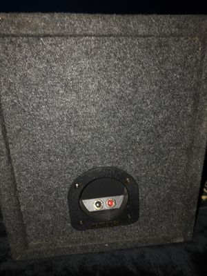 Speaker box for Sale in Rialto, CA