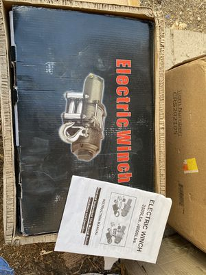 Electric winch $$70 for Sale in Baldwin Park, CA