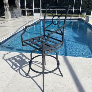 Patio Bar Stool-Swivel Bar Patio Chairs for Sale in Fern Park, FL