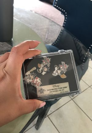 Disney Collectables MLB All Star pins for Sale in Stanton, CA