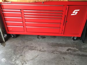 Snap-on box and tools Bra new for Sale in Bakersfield, CA