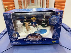 HERMEY Misfit Toys ELF Rudolph Reindeer Snow Collectible Talking Playset Action Figure Figurine Christmas Holiday Memory Lane Vintage for Sale in Brea, CA