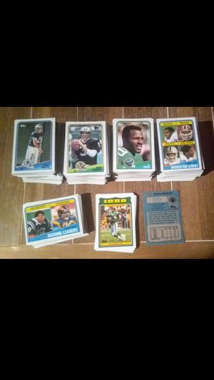 1988 Topps Football Cards - Over 400 - Some Duplicates - Vintage NFL Trading Cards Card for Sale in Nashville, TN
