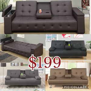 Futon sofa bed couch / sofa bed couch / sofa bed / sofas / couch for Sale in Los Angeles, CA