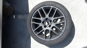 "18"" BLACK RIM & TIRED for Sale in Los Angeles, CA"