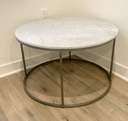 Round Marble Coffee Table * BRAND NEW* for Sale in Irvine,  CA