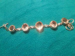 Sterling and white topaz bracelet for Sale in Phoenix, AZ