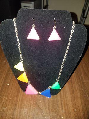 Necklace n Earring Set for Sale in Detroit, MI