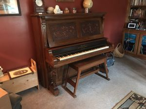 Brett upright Grand Piano-Make offer for Sale in Perry, OH