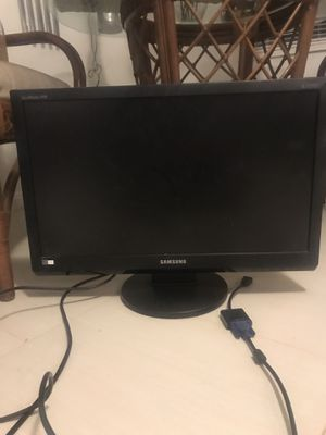 "25"" Samsung Desktop Computer Screen for Sale in Raleigh, NC"