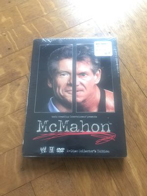 WWE VINCE MCMAHON 2 DISC COLLECTORS EDITION DVD NEW SEALED WCW TNA ECW WWF for Sale in CAPE ELIZ, ME