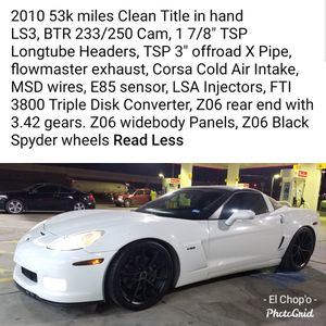 2010 Chevy Corvette for Sale in Baytown, TX