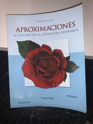 Aproximaciones Textbook for Sale in Avondale, AZ