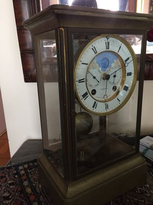 Antique moon clock for Sale in New York, NY