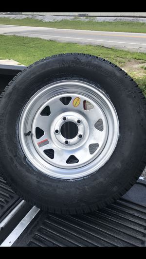 Trailer Mania has got brand new 205-75-15inch on 5-lug rims $90/each for Sale in Fort Lauderdale, FL