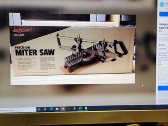 Jorgensen Precision Miter Saw New In Box for Sale in Las Vegas,  NV