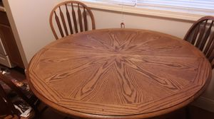 Kitchen table with 3 chairs for Sale in Lancaster, KY