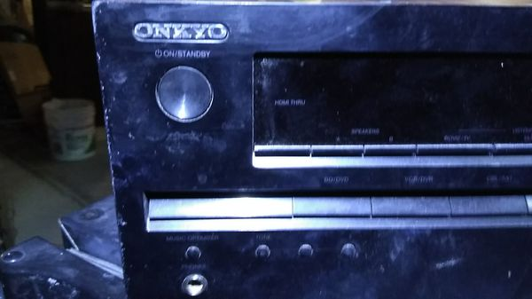 Onkyo amplifier Tuner surround sound all Jax included