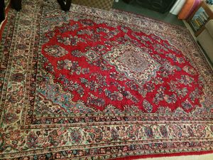 Beautiful Persian semi-antique (Kasvin) carpet for Sale in Chapel Hill, NC