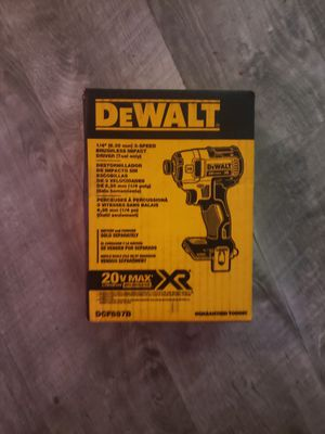 Dewalt 20v brushless impact driver new for Sale in Pacific, WA