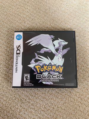 Pokémon Black Version for Sale in Gresham, OR