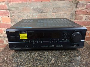 TX -SR574 Onkyo Surround Sound 80w Receiver 7.1 XM satellite for Sale in Pittsburgh, PA