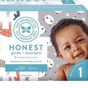 Honest Company Gentle And Absorbent Size 1 Diapers 80ct for Sale in Kirkland, WA