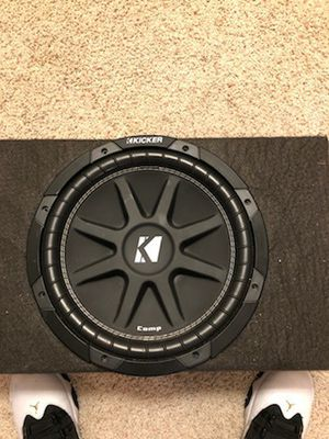 Amplifier and Kicker Subwoofer for Sale in Vancouver, WA