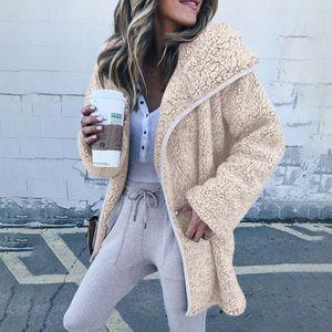 Plus Size Autumn Winter Warm Fashion Women's Ladies Long Sleeve Knit Cardigan Sweater Coat Fleece Jackets for Sale in Orlando, FL