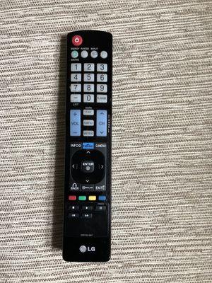 LG remote for Sale in Charlotte, NC