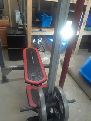 Weight bench home gym offers excepted will accept trades for Sale in Morgantown, WV