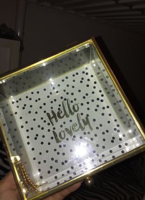 Cute room decor glass box for Sale in San Diego, CA
