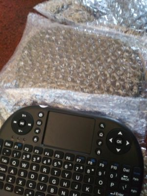 Mini Wireless touch pad keyboard remote for Sale in Long Beach, CA