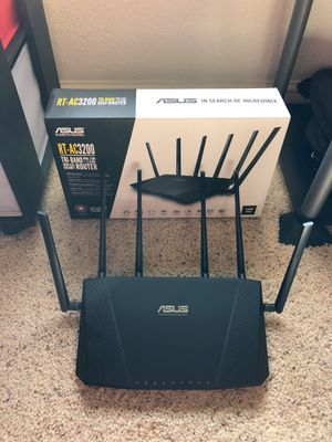 ASUS TRI-BAND ROUTER RT-AC3200 for Sale in Niwot, CO