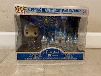 Funko Sleeping Beauty Castle Walt Disney 65th Anniversary for Sale in Tukwila,  WA