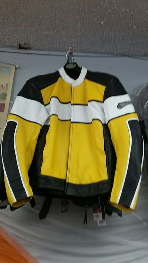 Size 48 motorcycle leather jacket XXL brand new for Sale in Los Angeles, CA