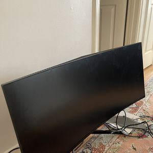 """Dell 34"""" Alienware AW3418DW Curved NVIDIA G-Sync UWQHD Monitor CRACKED SCREEN for Sale in Herndon, VA"""