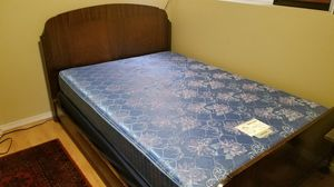 Full/ Double vintage wood bedframe for Sale in Lake Forest Park, WA