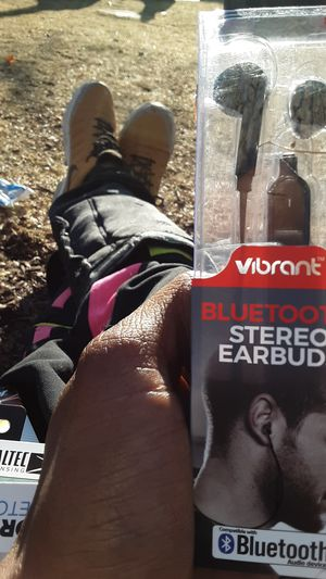 Vibrant bluetooth stereo earbuds for Sale in Denver, CO