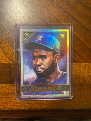 2020 Topps Gallery Rainbow Yordan Alvarez RC Baseball Card for Sale in Woodruff, SC
