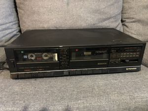 PIONEER CT-1170W DOUBLE CASSETTE PLAYER for Sale in Bergenfield, NJ