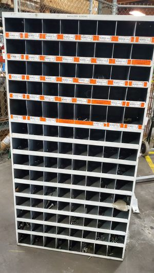 112 holes storage bin for Sale in Avondale, AZ